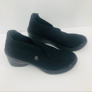 Bzees women's black clogs with bottom size 10